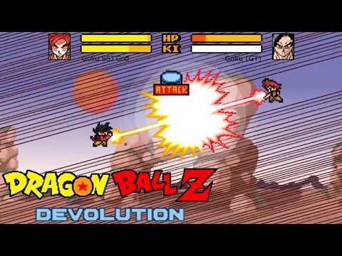 Image Dragon Ball Z Devolution Part 2 Full version