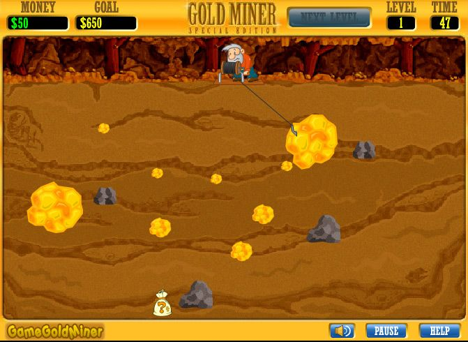 Image Gold Miner unblocked