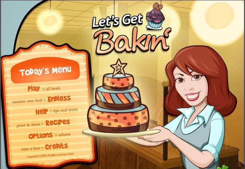 Image Lets get bakin game