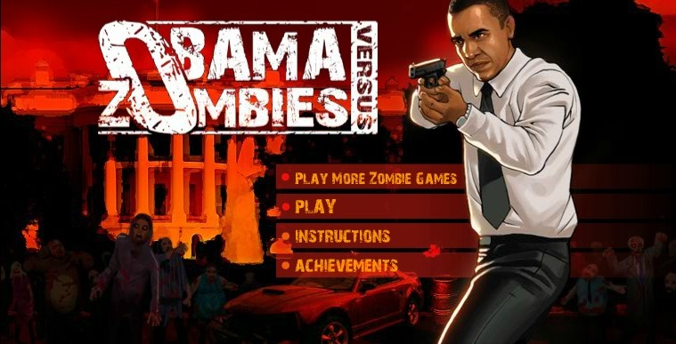 Image Obama vs Zombies Hacked