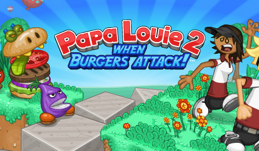 Papa Louie S When Food Attack