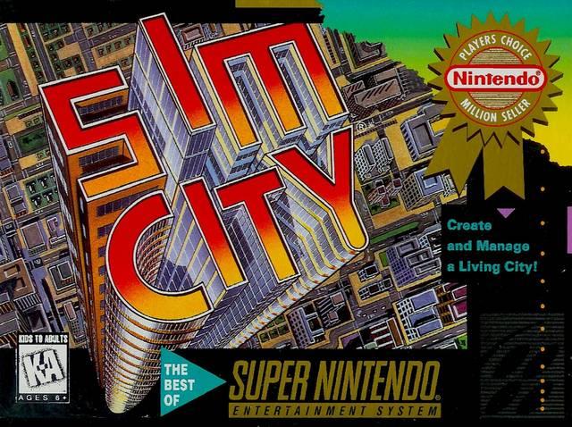 Image SIM CITY ONLINE - SNES