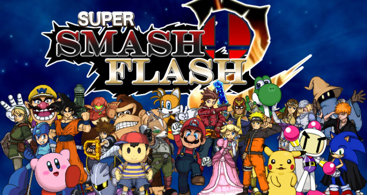 games super smash flash 3