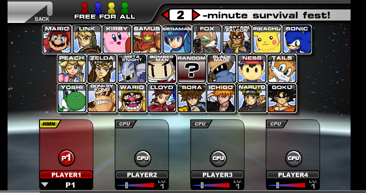 Image Super Smash Flash v 2.09 - unblocked