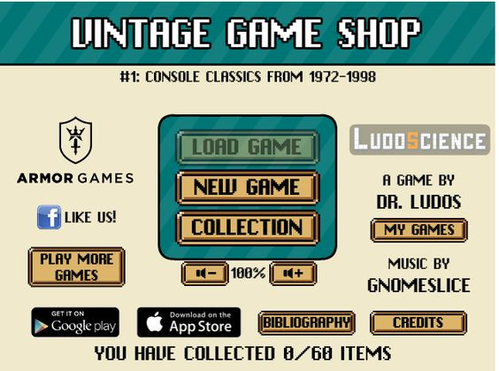 Image Vintage Game Shop