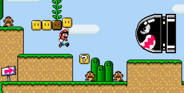 Image Super Mario World Flash - Online